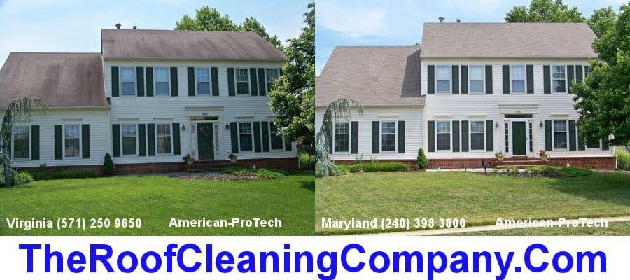 Roof Cleaning Fredericksburg