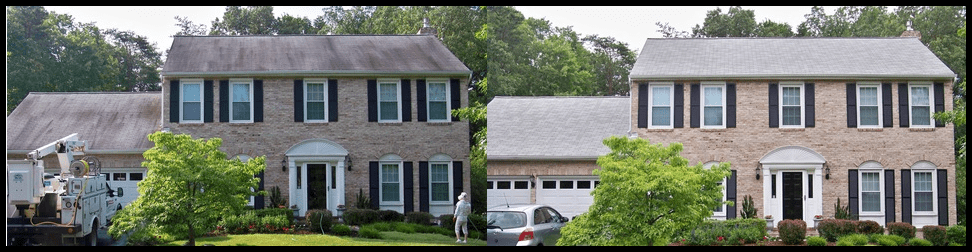 Roof Cleaning Raligh NC, roof stains, stain removal