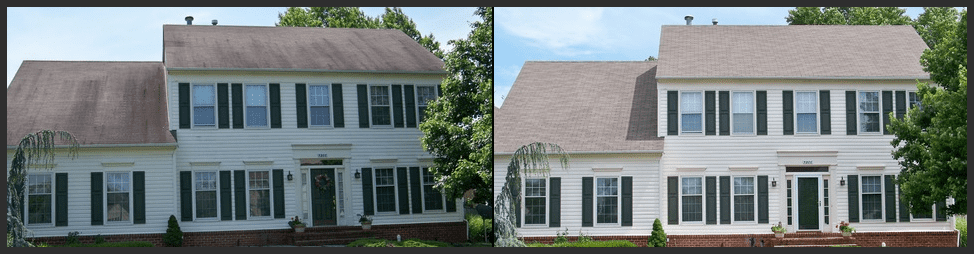 Roof Cleaning Raleigh NC, Roof stain removal